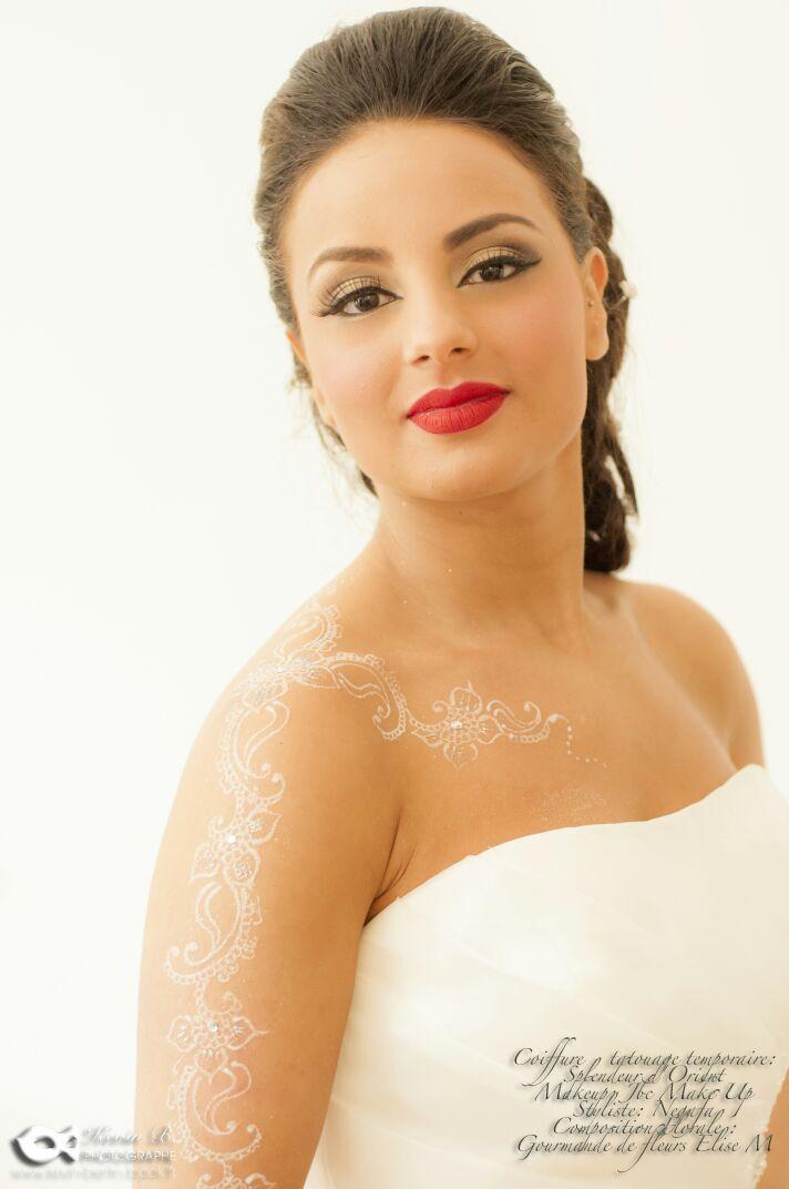 Mariage. L\u0027 INSPIRATION ORIENTAL. Le Maquillage